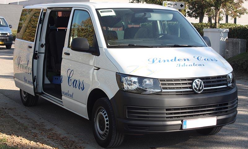 Busje Volkswagen 8 plaatsen